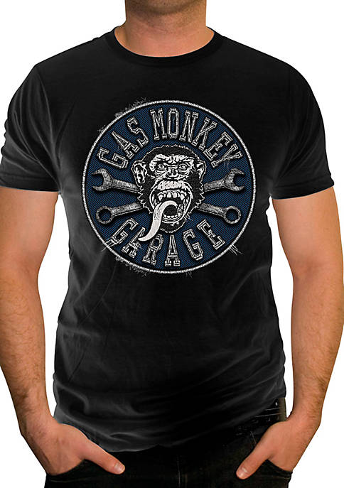 Changes Gas Monkey Garage Stitched Tee