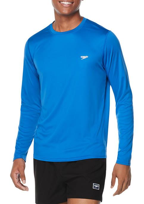 speedo® Long Sleeve Graphic Swim Rash Guard