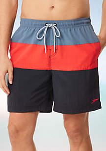 speedo® Colorblock Volley Swim Trunk