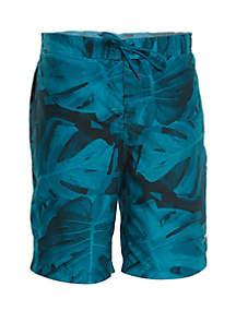 speedo® Kalo Palm Comfort Liner E-Board Shorts