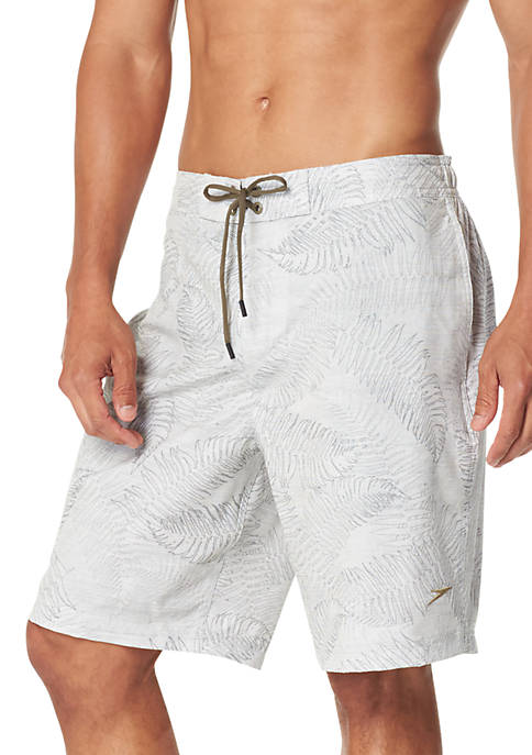 Stretch Palm Squad Swim Board Shorts