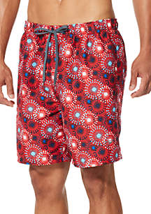 04a84a72ffbaf ... speedo® Americana Printed Swim Volley Shorts