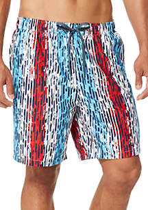 d86ab1b273082 speedo® Americana Geometric Print Swim Volley Shorts | belk