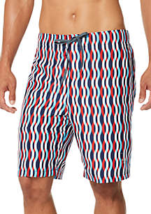 049555783c279 ... Swim Trunks · speedo® 9 in Americana Print Board Shorts