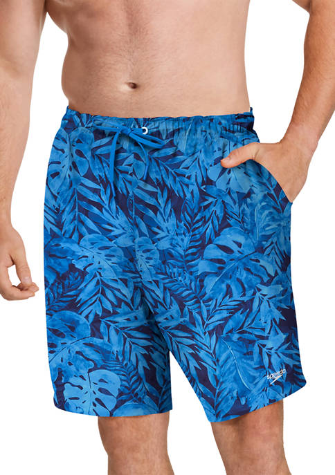 speedo® Big & Tall Printed Volley Shorts
