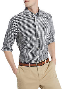 Tommy Hilfiger Twain Check Long Sleeve Woven Shirt