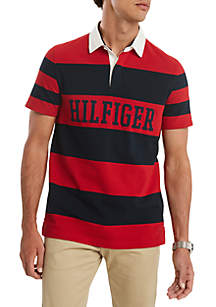 Tommy Hilfiger Men's Quincy Short Sleeve Rugby T-Shirt