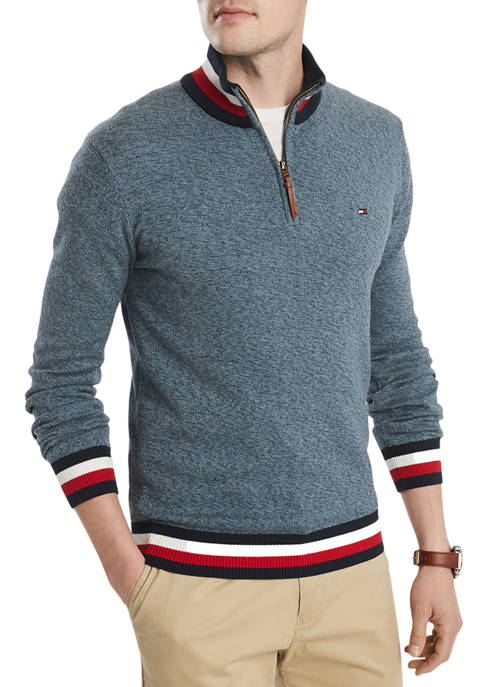 Tommy Hilfiger Big & Tall Long Sleeve Stripe
