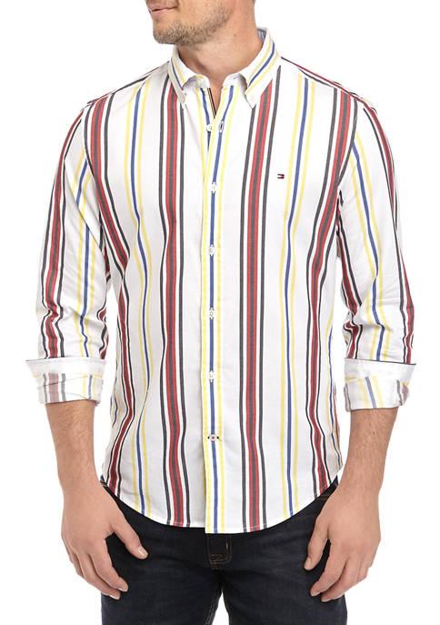 Kirkwood Stripe Stretch Button Down Shirt