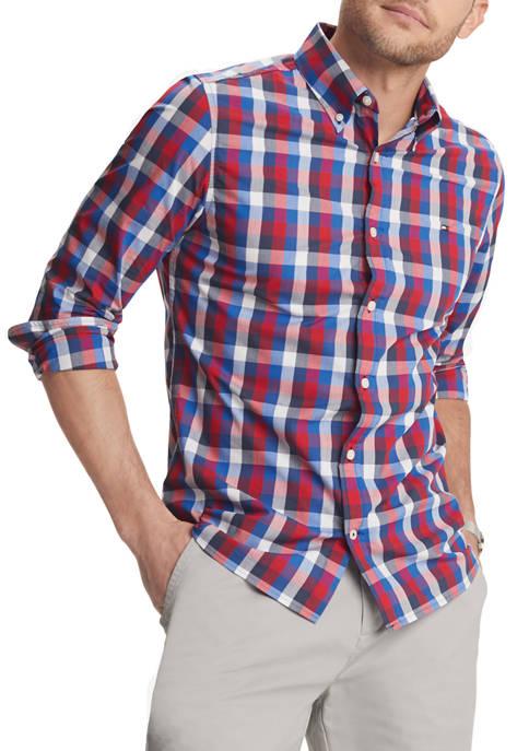 Colton Peacoat Check Shirt