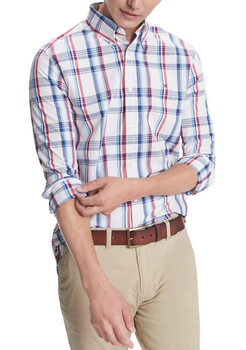 Sadler Plaid Long Sleeve Shirt