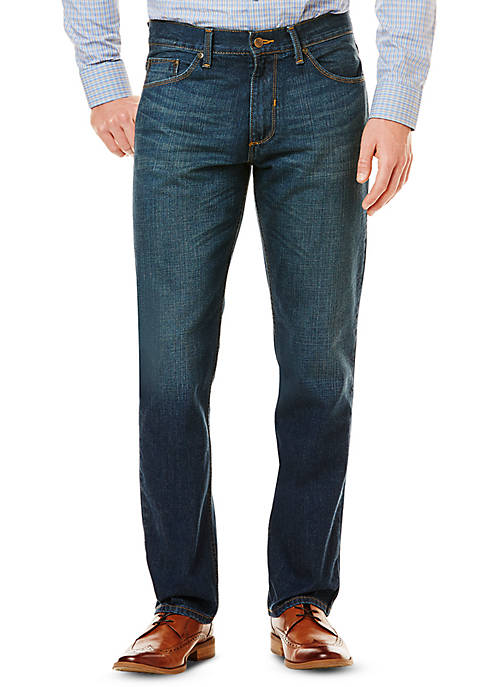 5-Pocket Straight Fit Jeans