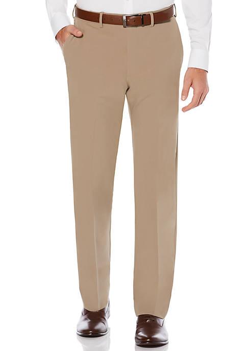 Mens Active Flex 4-Way Stretch Gab Dress Pant