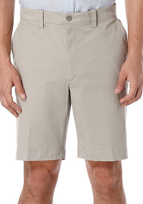 Premium Flex 9-Inch Twill Stretch Shorts