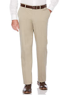 Savane® Ultimate Performance Flat Front Chino Pants