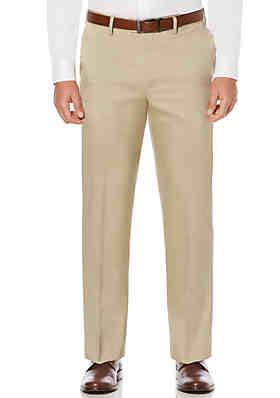 e2402e0205f7a6 Savane® Savane Men's Flat Front Stretch Crosshatch Dress Pant ...