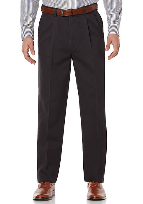 Pleated Stretch Ultimate Performance Chino Pants