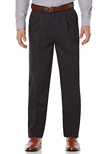 Savane® Pleated Stretch Ultimate Performance Chino Pants