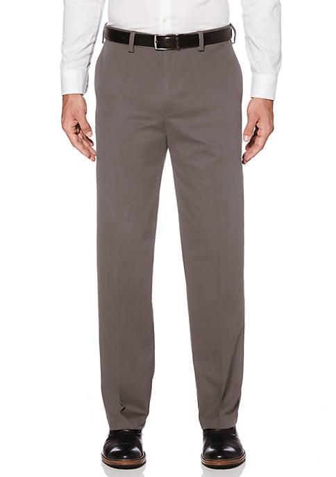 Eco Start Stretch Flat Front Extender Waist Dress Pants