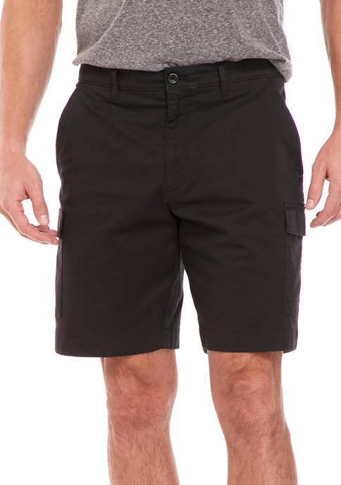 Savane® Mens Max Comfort Waistband Cargo Shorts