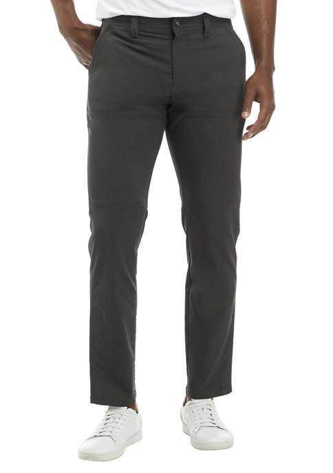 High Ridge Twill Pieced Leg Pants