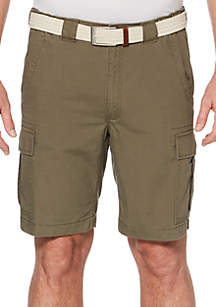 Eco-Start® 8-in. Twill Flat Front Shorts