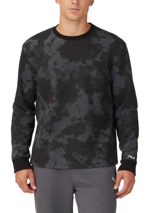 FILA USA Myron Fleece Top Crew Neck Sweater