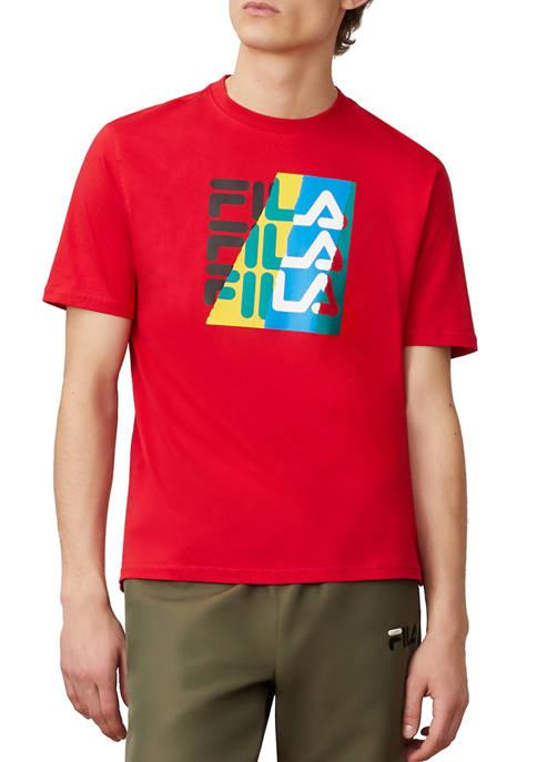 FILA USA Valdez Logo Graphic T-Shirt