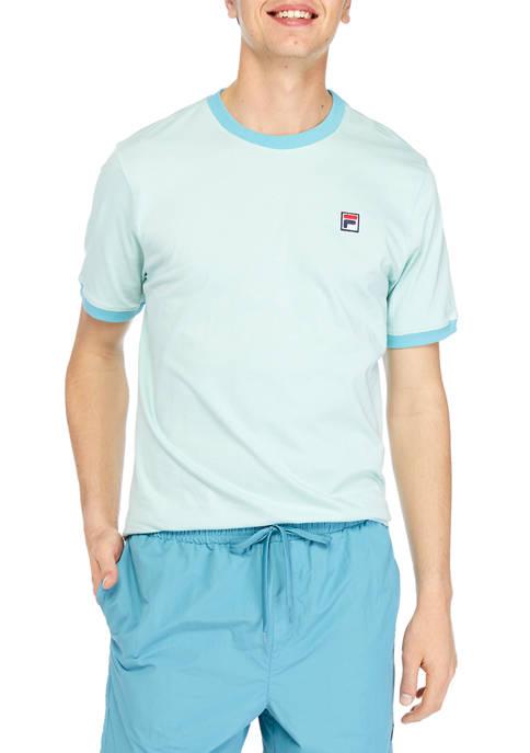 Contrast Rib T-Shirt