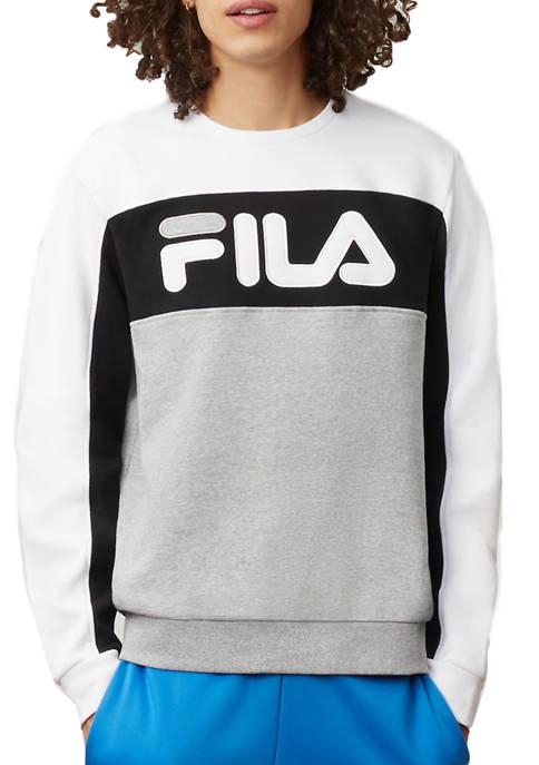 Fila Mens Lesner Fleece Crew Neck Sweatshirt