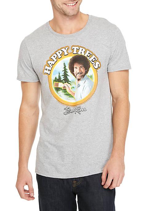 Bob Ross Happy Trees Graphic T-Shirt