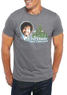 Bob Ross Men's Everybody Needs A Friend T-Shirt