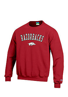 Champion® Arkansas Razorbacks Crew Neck Fleece Sweatshirt