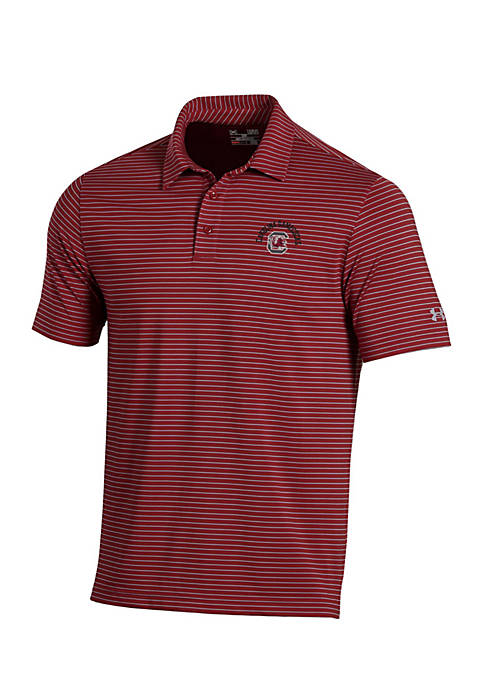 Under Armour® South Carolina Gamecocks Playoff Stripe Polo