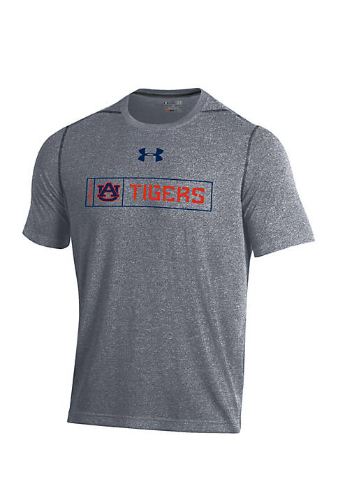 Under Armour® Auburn Tigers Threadborne Short Sleeve Tee