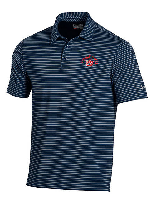 Under Armour® Auburn Tigers Playoff Stripe Polo