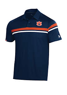 Under Armour® Auburn Tigers Tour Drive Polo Shirt