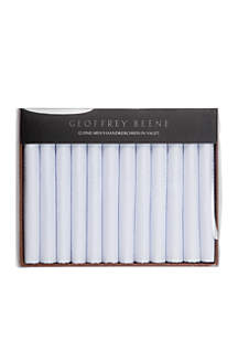 12-Piece Geoffrey Beene Cotton Handkerchief Box Set
