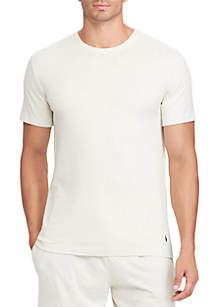 Short Sleeve Crew Knit Undershirt