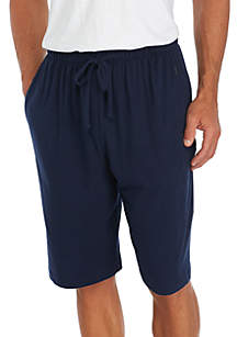 Knit Navy Sleep Shorts