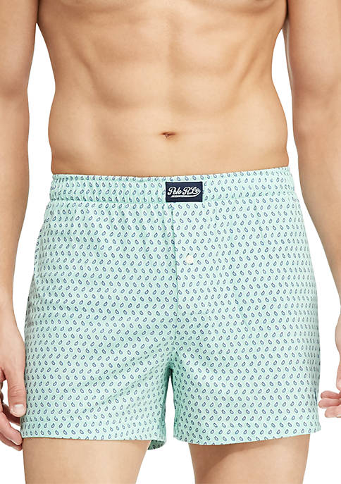 Knit Paisley Boxers