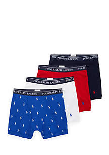 Classic Fit Boxer Brief 4-Pack