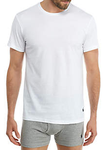 Classic Crew Neckline T-Shirts - 4 Pack