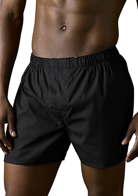 Polo Ralph Lauren 3-Pack Assorted Woven Boxers for sale