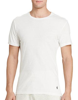 Slim Fit Crew Neck Tee Shirt 3-Pack