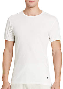 Slim Fit Crew Neck Tee Shirt 3-Pack