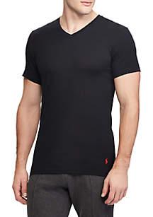 Slim Fit V-Neck Tee Shirt 3 Pack