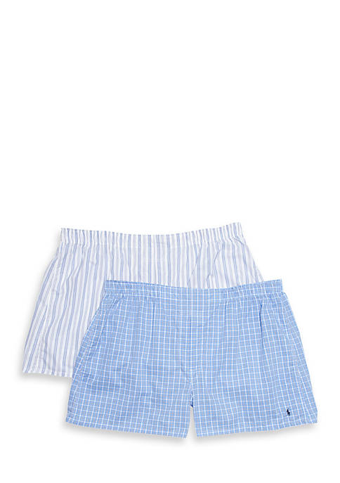 Polo Ralph Lauren Big & Tall Woven Boxers