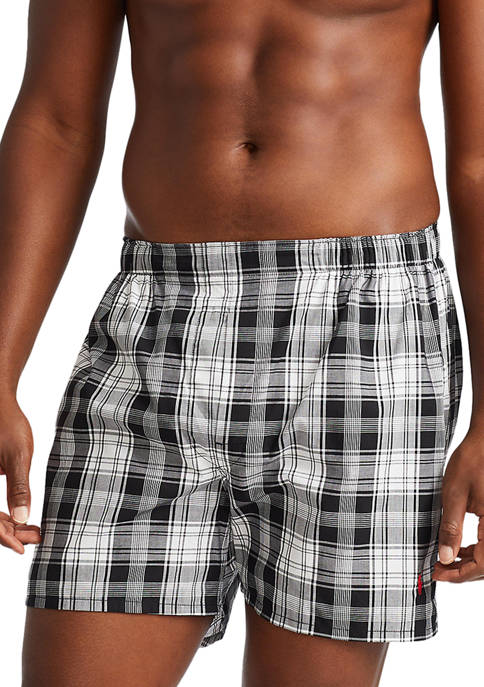 Big & Tall Classic Fit Boxers - 3 Pack