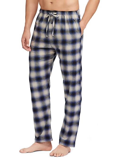 Polo Ralph Lauren Plaid Cotton Flannel Pajama Pant